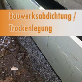 Bauwerksabdichtung und Trockenlegung in Leipzig